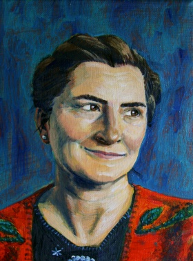 Mami, 2013, oil on canvas