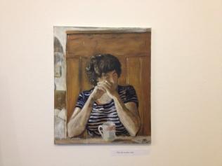 Zlata, 2014, oil on canvas