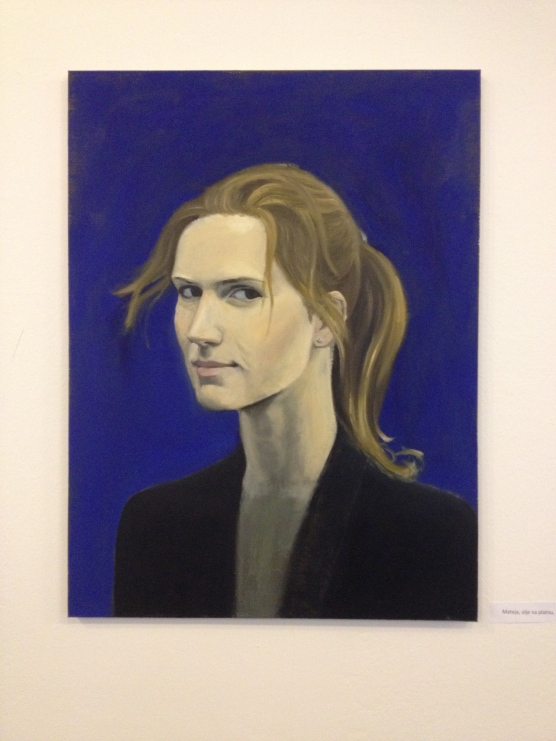 Mateja, 2014, oil on canvas