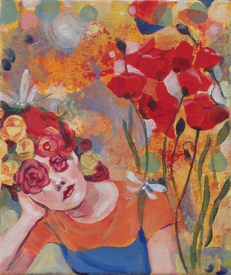 Summer melancholy oil on canvas 25 x 30 cm 2016