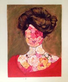Gibson girl, 2015, oil on canvas, 40 x 30 cm