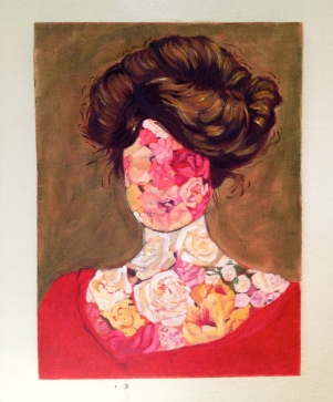 Gibson girl, 2015, oil on canvas, 40 x 30 cm