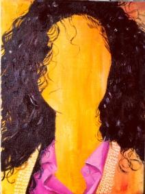 Orange, 2015, oil on canvas, 40 x 30 cm