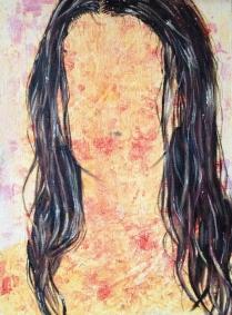Wet, 2015, oil on canvas, 40 x 30 cm